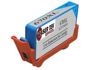 Laser Tek Services® HP CZ118AL 960XL Cyan Compatible Replacement Ink Cartridge for the DeskJet 3525, 4615, 6525