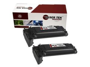 Laser Tek Services® 2 pack Xerox 106R01047 Black High Yield Remanufactured Replacement Toner Cartridges for the M20