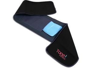 Tone Fitness Waist Slimmer Belt With Hot/Cold Gel Pac