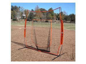 Bownet Portable Big Mouth Soft Toss Baseball/Softball Net