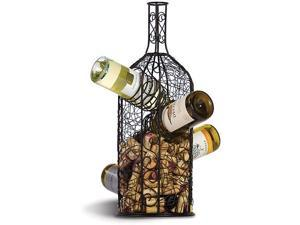 Picnic Plus Bouchon Wine Rack & Cork Caddy