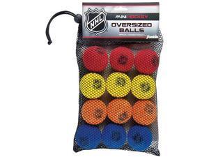 Franklin Nhl Foam Mini Hockey Balls -12 Pack