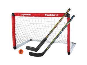 Franklin Nhl Youth Hockey Goal And 2 Stick Set