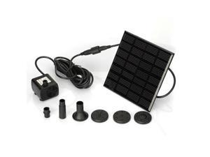 Solar Water Pump for Fountain Pool Garden Pond Submersible Water Pump