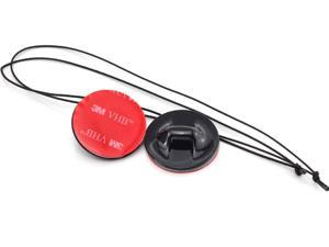 2 x Insurance Tether Straps With 3M Sticker Mounting Kit For GoPro Hero 2 3 Gear