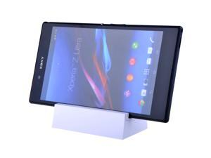 New Magnetic Charger Charging Dock Station Cradle For Sony Xperia Z1 L39h /Xperia Z Ultra XL39h White