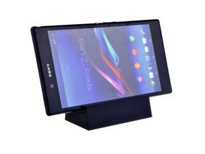 Black Cover Adapter USB Magnetic Charger Dock Cradle Stand Docking Station For Xperia Z Ultra XL39h/ Sony Xperia Z1 L39h
