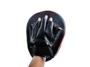 2PCS Boxing MMA Karate Muay Thai Kick Training Punching Mitt Gloves Target Focus Pad