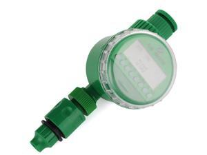 New Electronic Water Watering Timer Irrigation Timer Sprinkler Timer with LCD Display For Lawn Garden Yard Plants Landscape Outdoor etc. - Green