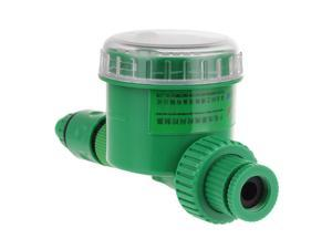 New Electronic Mechanical Water Watering Timer Controller Irrigation Timer Sprinkler Timer with LCD Display For Lawn Garden Yard Plants Landscape Outdoor etc. - Green