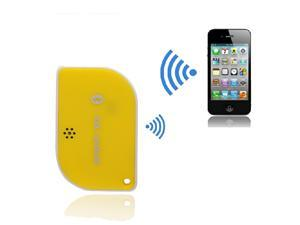 Mini Wireless Bluetooth 4.0 Self-Timer Remote Shutter Anti-lost Anti-theft Alarm Keys Finder Support IOS 6.0 & above for iPhone 6 Plus 6 5 5S 5C iPad 3 4 iPod Touch 4 5 - Yellow