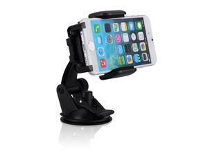 Mpow Grip Pro Mobile Phone Universal Car Mount Holder Cradle for iPhone 6/6plus/5S/5/4S/4, Samsung Galaxy S5/S4, Samsung Galaxy Note 4/3/2, HTC One, Nexus 4, Lg Nexus 4, Nokia Lumia 920