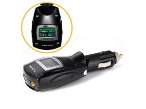 Wireless Green LCD Car Kit MP3 Player 3.5mm FM Transmitter Support USB/SD Card for Samsung Galaxy S5 S4 S3 Note 4 3 2 Nokia Lumia 930 920 830 820 Sony Xperia Z1 Z2 HTC One M8 M7 Desire X etc.