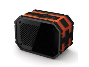 Mpow Armor Portable Bluetooth Speaker and 5W Strong Drive/Passive Radiator with Emergency Power Surpply for Waterproof Shockproof and Dustproof Outdoor/Shower/MP3/PC