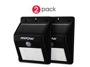 Mpow Solar Powerd Wireless LED Security Motion Sensor-Detector Activated (2 Packs)