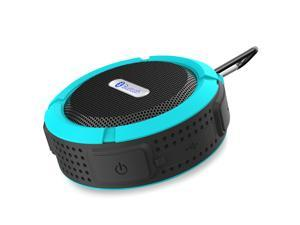 Blue Mini Waterproof Handsfree Bluetooth 3.0 A2DP Stereo Sport Speaker with Suction Cup for iPhone 6 Plus 5S 5C 5 Samsung Galaxy S5 S4 Note 4 3 HTC One M8 M7 Desire 820 Sony Nokia