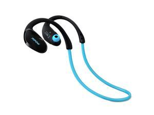Mpow Cheetah Sport Bluetooth 4.1 Wireless Stereo Headset with AptX, Microphone Hands-free Calling for Running - Work with Apple iPhone 6, 6 Plus, iPad and Android - Blue