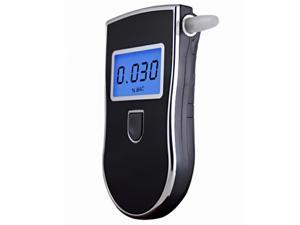Police Digital Portable Analyzer Breath Alcohol Tester Breathalyzer With Mouthpieces