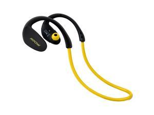 Mpow Cheetah Sport Bluetooth 4.1 Wireless Stereo Headset with AptX, Microphone Hands-free Calling for Running - Work with Apple iPhone 6, 6 Plus, iPad and Android - Yellow