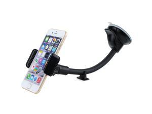Mpow Grip Flex Windshield 8.66 Inches Long Arm Car Mount Holder Cradle with Extra Dashboard Base and Double Strong Suction for Smartphones/GPS Devices
