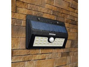 Mpow Super Bright 20 LED Solar Powered Wireless Security Motion Sensor Light