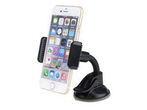 Mpow 360 Degree Rotation Flex Dashboard Mount Universal Car Mount Holder Cradle for iPhone/Samsung Galaxy series, Nexus, LG, HTC and More Phone Models