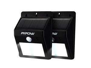 Mpow Newest outdoor solar powered motion sensor light,automatically turn on/off,Perfect for patios, decks, pathways, stairways, driveways, garden, etc