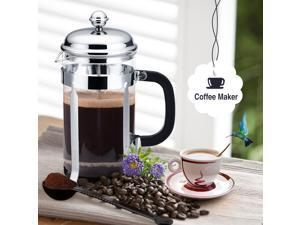 French Press Cafetiere Coffee or Tea Maker Teapot