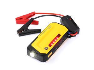 Portable Power Bank Car Jump Starter 18000mAh Rechargeable Battery with Flashlight/ SOS/ Strobe/ Compass Function