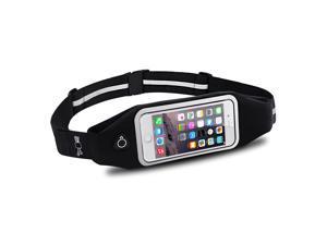 OutdoorSweatproof Reflective Running Belt Waist Pack Bag for iPhone 6S/6
