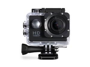 2-inch LCD Display Sports Camera Action Camera with 12MP Image and Full HD Waterproof