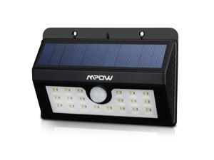 MpowSolar Powered Wireless Security Motion Sensor Night Light with  20 LED Lights
