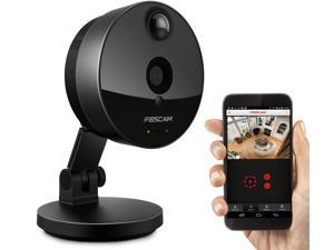 Foscam C1 Indoor HD 720P Wide 115 Degree Viewing Angle Night Vision Wireless IP Security Camera