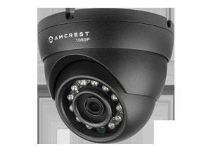 Amcrest 1080p HDCVI Standalone Dome Camera (Black) (DVR Not Included) Power supply and coaxial video cable are NOT INCLUDED