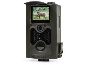 """Amcrest ATC-801 720P HD Game and Trail Hunting Camera with Long Range Night Vision- 8MP Dynamic Capture, Integrated 2"""" LCD Viewscreen, High-Sensitivity Motion Detection with Infrared LED Night Vision"""
