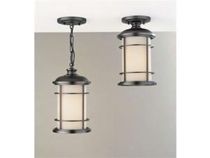 Feiss Lighthouse 1-Light Pendant in Burnished Bronze - OL2209BB