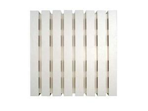 Craftmade Premium Builder LOUD 2-Note Chime Slatted Cover in White CL-DW
