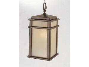Feiss Mission Lodge 1-Light Pendant in Corinthian Bronze - OL3411CB