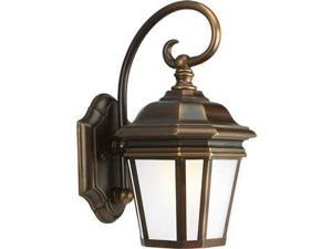 Progress Lighting Crawford 1-Light Wall Lantern in Oil Rubbed Bronze - P5685-108