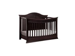 DaVinci Meadow 4-in-1 Convertible Crib, Dark Java - M4501DJ