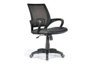 LumiSource OFC-OFFCR BK Officer Office Chair Black