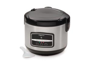 Presto 5813 16-Cup Digital Stainless Steel Rice Cooker/Steamer
