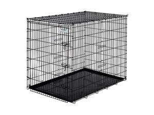"""Precision Pet Products Basic Crate 54"""", Black - 1175-BSC7000BLK"""