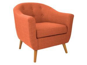 LumiSource CHR-AH-RKWL OR Rockwell Chair Orange