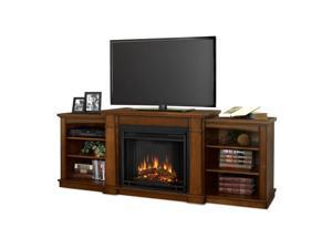 Real Flame Hawthorne Electric Fireplace in Burnished Oak - 2222E-BO