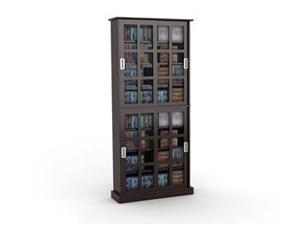 "Atlantic Windowpane 720 Sliding Panes 72"" Tall in Espresso - 94835757"