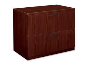 Basyx BSXBL2171NN 2-Drawer Lateral File- 35-.50in.x22in.x29in.- Mahognay