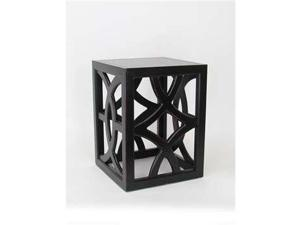 Wayborn Furniture Charleston Table, Black - 5715B