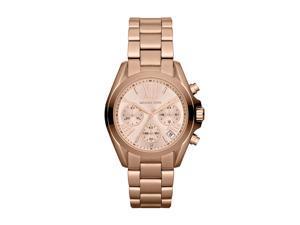 Michael Kors Bradshaw Chronograph Rose Gold Womens Watch MK5799