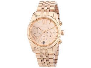 Michael Kors Lexington Chronograph Rose Gold Womens Watch MK5569
